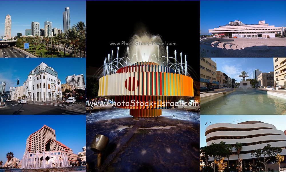 Tel Aviv, Israel, collage