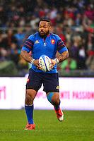 Mathieu BASTAREAUD - 15.03.2015 - Rugby - Italie / France - Tournoi des VI Nations -Rome<br /> Photo : David Winter / Icon Sport