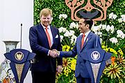 Staatsbezoek van Koning Willem Alexander en  Koningin Maxima aan Indonesie Dag 1 Java, Jakarta Gezamelijke persverklaringen /// State visit by King Willem Alexander and Queen Maxima to Indonesia Day 1 Java, Jakarta Joint press statements