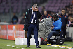 coach Fernando Santos of Portugal during the International friendly match match between Portugal and The Netherlands at Stade de Genève on March 26, 2018 in Geneva, Switzerland