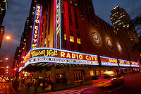Radio City Music Hall in Manhattan, Wed. June 15, 2006. .