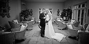 Wedding photographs of Julie & Jamie at Woodborough Hall, Nottingham