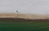 6-10-2010. BP oil washes up on  Orange Beach Alabama.