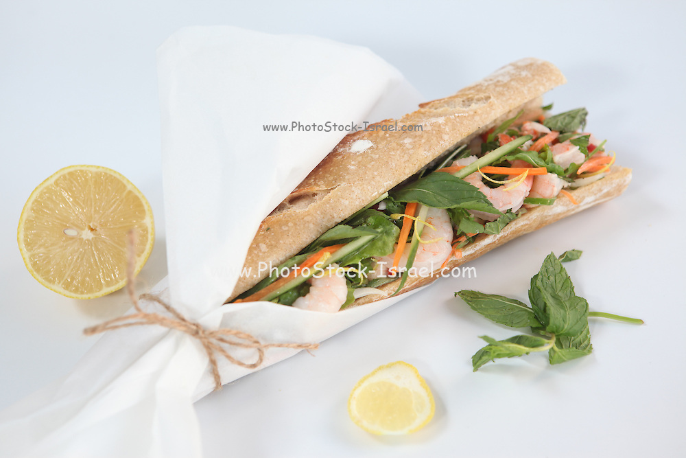 Prawn sandwich