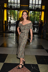 Andrea Dellal at the Balenciaga Shaping Fashion VIP Preview, The V&A Museum, London England. 24 May 2017.<br /> Photo by Dominic O'Neill/SilverHub 0203 174 1069 sales@silverhubmedia.com