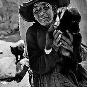 """Palliri"". The Cerro Rico miners' encampment. Potosí, Bolivia."