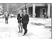 Lady Antonia Fraser, Harold Pinter.© Copyright Photograph by Dafydd Jones 66 Stockwell Park Rd. London SW9 0DA Tel 020 7733 0108 www.dafjones.com