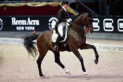 Weinbauer Belinda, AUT, Sohenlein Brilliant Mj<br /> MEVISTO Amadeus Horse Indoor Salzburg<br /> © Hippo Foto - Stefan Lafrentz<br /> 11-12-2016