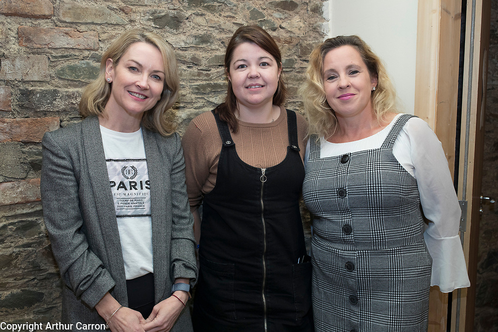 NO FEE PICTURES                                                                                                                                              9/10/19 Pictured are Siobhan Conachy, Ardee, Lorraine Treanor,  New Leaf and Tara McMahon Coyle, New Leaf, at<br />  the launch of the International Fund for Ireland's New Leaf project at the Coach House, Dunleer with (IFI rep or New Leaf project rep). The special project aims to support the local community and young people in an area still suffering from the legacy of the Troubles and will be run by Ardee & District Community Trust in partnership with the Dunleer and District Community Development Board.Picture: Arthur Carron