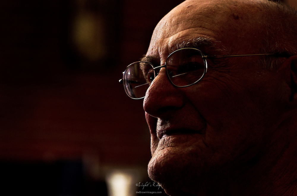 While on a shoot to update an independent/assisted living facility's printed & web images I was able to capture a portrait of this gentleman who had survived cancer and was enjoying his independent lifestyle.