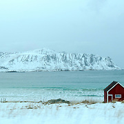 Vestvagoy, Lofoten Islands, Nordland County, Norway, Europe