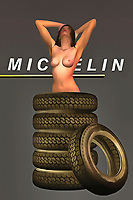 When it comes to the greatest vehicle tires of all time, few brand names stand out more intently for people than Michelin. For several generations, this has been a brand that has kept the vehicles of America and elsewhere running along. These are the tires that helped to build the America we know today. Even in the present, people continue to use Michelin Tires. These thoughts are brought to the forefront of our minds by combining them with the startling depiction of a woman in her natural, nude form. Tires surround the woman, and she appears to be completely at ease. .<br /> <br /> BUY THIS PRINT AT<br /> <br /> FINE ART AMERICA<br /> ENGLISH<br /> https://janke.pixels.com/featured/michelin-tires-jan-keteleer.html<br /> <br /> <br /> WADM / OH MY PRINTS<br /> DUTCH / FRENCH / GERMAN<br /> https://www.werkaandemuur.nl/nl/shopwerk/Pop-Art---Michelin-Tires/438198/134