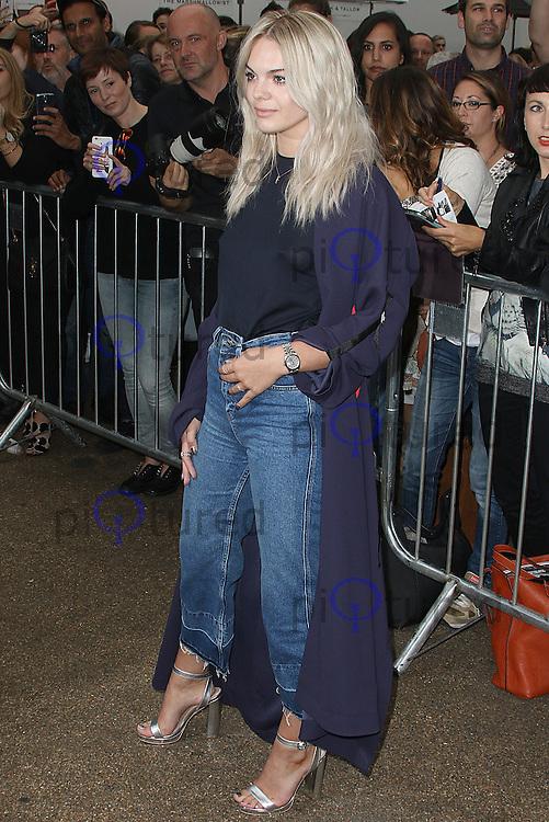 Louisa Johnson, London Fashion Week SS17 - Topshop, Old Spitalfields Market, London UK, 18 September 2016, Photo by Brett D. Cove