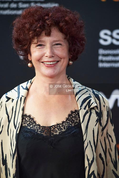 Iciar Bollain attended Red Carpet Opening Ceremony during 68th San Sebastian International Film Festival at Kursaal Palace on September 18, 2020 in Donostia / San Sebastian, Spain
