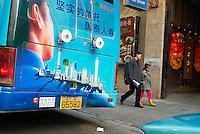 Chine. Shanghai. Quartier de Huaihai Zhonglu. // China. Shanghai. Huaihai Zhonglu area.