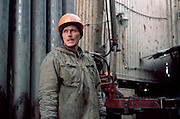 Noyabrsk, Siberia, 12/10/2000..Sibneft-owned oil storage facilities, wells, and drilling work in the Noyabrskneftegaz field.