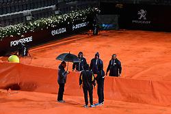 May 14, 2019 - Roma, Italia - Foto Alfredo Falcone - LaPresse14/05/2019 Roma ( Italia)Sport TennisInternazionali BNL d'Italia 2019Elina Svitolina (ukr) vs Victoria Azarenka (blr)Nella foto:la copertura del campo centralePhoto Alfredo Falcone - LaPresse14/05/2019 Roma (Italy)Sport TennisInternazionali BNL d'Italia 2019Elina Svitolina (ukr) vs Victoria Azarenka (blr)In the pic:the coverage of the central field (Credit Image: © Alfredo Falcone/Lapresse via ZUMA Press)