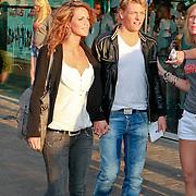NLD/Amsterdam/20110426 - Premiere Fast & Furious 5, Thomas Berge en partner Anna