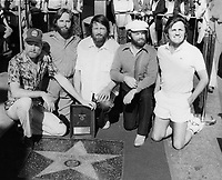 1980 The Beach Boys Walk of Fame ceremony