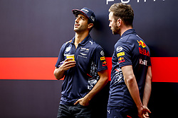 August 24, 2017 - Spa-Francorchamps, Belgium - Motorsports: FIA Formula One World Championship 2017, Grand Prix of Belgium, ..#3 Daniel Ricciardo (AUS, Red Bull Racing) (Credit Image: © Hoch Zwei via ZUMA Wire)