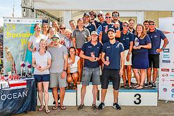 , Travemünder Woche 20. - 29.07.2018, Siegerehrung - Seebahn - Up and Down
