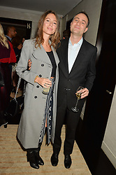 BEN & JEMIMA GOLDSMITH at the Louis Vuitton for Unicef Event #MAKEAPROMISE held at The Apartment, 17-20 New Bond Street, London on 14th January 2016.