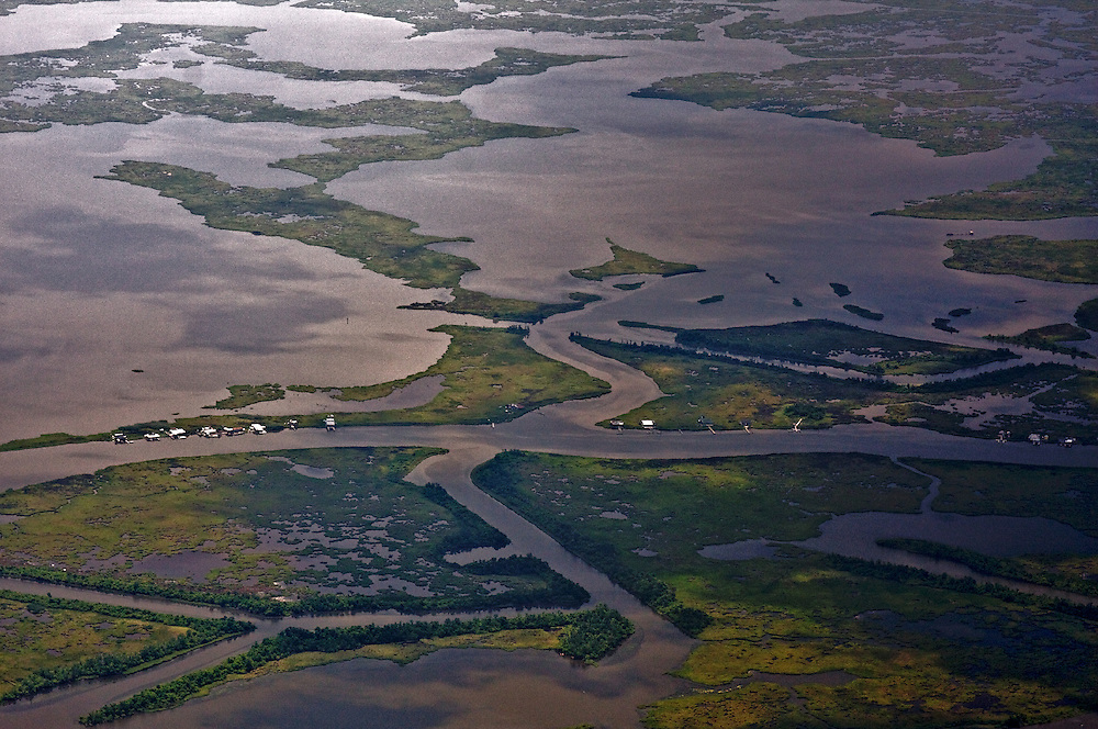 Fishing Camps, Plaquemines Parish, Louisiana, USA
