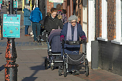 © Licensed to London News Pictures. 01/12/2020. <br /> Rochester, UK. People in Rochester High Street in Medway today. Kent has two of the worst effected Coronavirus areas in England with Medway behind Swale despite a fall in infections. Kent will be placed in tier 3 tomorrow when the lockdown ends. Photo credit:Grant Falvey/LNP