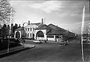 01/04/1963<br /> 04/01/1963<br /> 01 April 1963<br /> Exterior of Brittain Dublin Limited, Rathmines Road, Dublin.