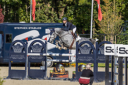 Thiry Manuel, BEL, Olisca<br /> Belgian Championship 6 years old horses<br /> SenTower Park - Opglabbeek 2020<br /> © Hippo Foto - Dirk Caremans<br />  13/09/2020