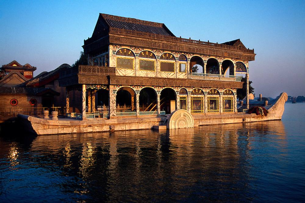 The Marble Boat, The Summer Palace, Beijing, China