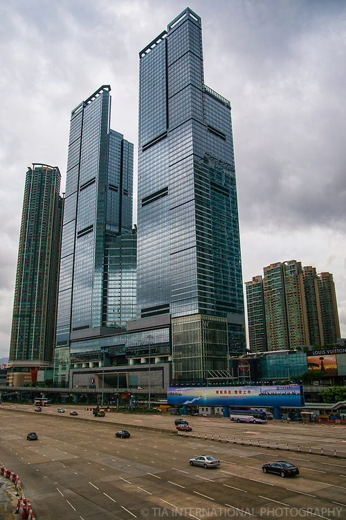 The Cullinan Towers & West Kowloon Highway