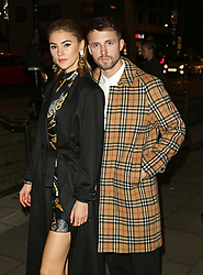 February 18, 2019 - London, United Kingdom - Stefanie Giesinger and Marcus Butler attend the Fabulous Fund Fair as part of London Fashion Week event. (Credit Image: © Brett Cove/SOPA Images via ZUMA Wire)