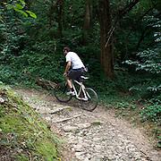 Escursione in bicletta nel Parco Montevecchia Curone..Bicycle tour on footpaths of Montevecchia park