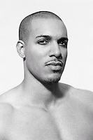 Portrait of a mixed race man&#xA;<br />