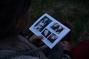 Durante el funeral de Rhonita Miller y sus hijos, en el Rancho de la Mora, en Chihuahua. Un grupo armado atacó a miembros de la familia de Julián LeBarón, un conocido líder mormón y activista social, en una carretera entre los Estados de Chihuahua y Sonora, al norte de México. Seis niños y tres mujeres de origen estadounidense fueron asesinadas en este hecho. Fotografo César Rodríguez/El Pais.
