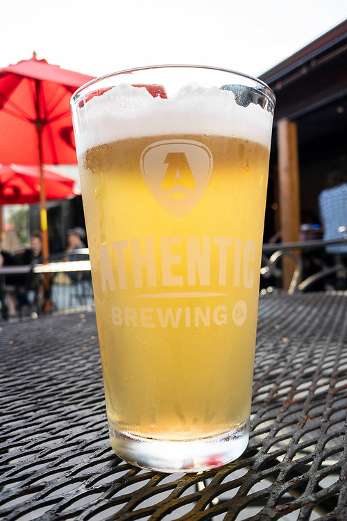 Fresh craft beer at Athentic Brewing Company in Athens, Georgia on Tuesday, July 13, 2021. Copyright 2021 Jason Barnette