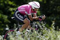 Sykkel<br /> Tour de France 2006<br /> Foto: Dppi/Digitalsport<br /> NORWAY ONLY<br /> <br /> CYCLING - UCI PRO TOUR - TOUR DE FRANCE 2006 - 08/07/2006<br />                           <br /> STAGE 7 - TIME TRIAL - SAINT-GREGOIRE>RENNES - SERHIY HONCHAR (UKR) / T-MOBILE / WINNER / NEW LEADER