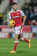Dominic Ball (Rotherham United) during the EFL Sky Bet Championship match between Rotherham United and Leeds United at the New York Stadium, Rotherham, England on 26 November 2016. Photo by Mark P Doherty.