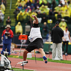 men's javelin, Humphreys wins to secure spot of Olympic team