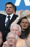 Photo: Paul Thomas. <br /> Bolton Wanderers v Newcastle United. Barclays Premiership. 11/08/2007. <br /> <br /> Sam Allardyce, new manager of Newcastle.