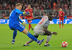 13.03.2019, CL, Champions League, Achtelfinale Rueckspiel, FC Bayern Muenchen vs FC Liverpool, Allianz Arena Muenchen , Fussball, Sport im Bild:.. Torwart Manuel Neuer (FCB) geschlagen und Sadio Mane (FC Liverpool) schiesst zu 0:1..DFL REGULATIONS PROHIBIT ANY USE OF PHOTOGRAPHS AS IMAGE SEQUENCES AND / OR QUASI VIDEO...Copyright: Philippe Ruiz..Tel: 089 745 82 22.Handy: 0177 29 39 408.e-Mail: philippe_ruiz@gmx.de (Credit Image: © Philippe Ruiz/Xinhua via ZUMA Wire)