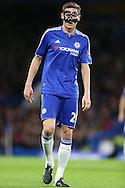 Nemanja Matic of Chelsea looks on. Barclays Premier league match, Chelsea v AFC Bournemouth at Stamford Bridge in London on Saturday 5th December 2015.<br /> pic by John Patrick Fletcher, Andrew Orchard sports photography.