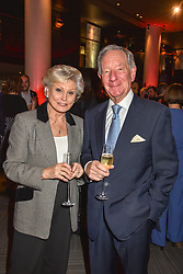 28 January 2020 - Angela Rippon and Michael Buerk at the Costa Book Awards 2019 held at Quaglino's, 16 Bury Street, London.<br /> <br /> Photo by Dominic O'Neill/Desmond O'Neill Features Ltd.  +44(0)1306 731608  www.donfeatures.com