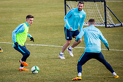 Training of Slovenian National Football team before friendly matches with Austria and Belarus, on March 21, 2018 in National Football Centre Brdo pri Kranju, Kranj, Slovenia. Photo by Ziga Zupan / Sportida