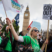 NUT/NUSAWT day of action. March in London