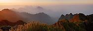 Vietnam Images-panoramic landscape-Fansipan peak-Sapa Hoàng thế Nhiệm Phong cảnh Sapa