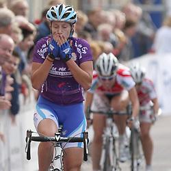 Ladiestour 2008 Boxtel<br />Loes Markerink wint de etappe