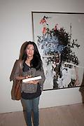 Ay Tjoe Christine, Indonesian Eye Contemporary Art Exhibition Reception, Saatchi Gallery. London. 9 September 2011. <br /> <br />  , -DO NOT ARCHIVE-© Copyright Photograph by Dafydd Jones. 248 Clapham Rd. London SW9 0PZ. Tel 0207 820 0771. www.dafjones.com.