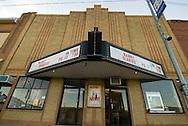 11/7/07 Smith Center, KS.Theater in Smith Center Kansas...(Chris Machian/Prairie Pixel Group)